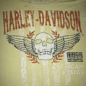 Harley Davidson T 2X Soft Lightweight Sequins NICE